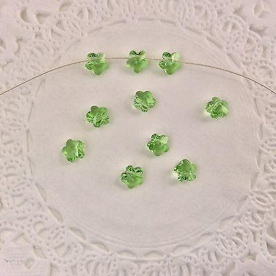 Swarovski® Crystal #5744 - 6mm Flower Bead 12 PC PACK - Choose color