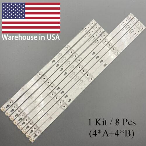 KIT LED Strip For 55S405 55S401 U55P6006 55UC6426 4C-LB5504-YH/4C-LB5505-YH