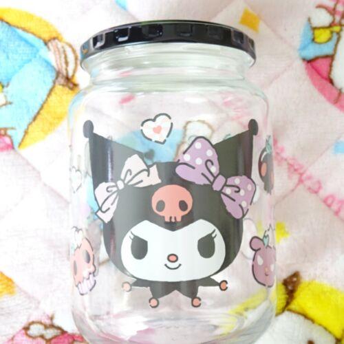 Sanrio lottery Kuromi Glass jar glass pot Bottle ichiban  Kuji