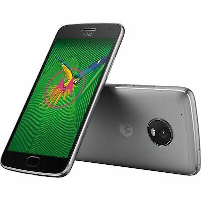 New Motorola Moto G5 Plus XT1687 32GB Lunar Gray Factory Unlocked