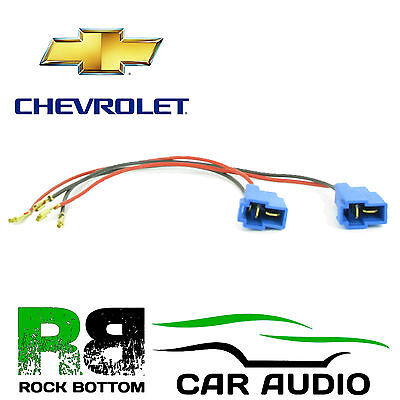 CT55 CV01 Chevrolet All Models Upto 2015 Car Replacement Speaker Loom Adaptor