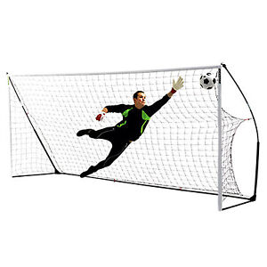 NEW Quickplay Kickster Academy 9 a Side Football Goal 16x7 Cheap Portable Goals