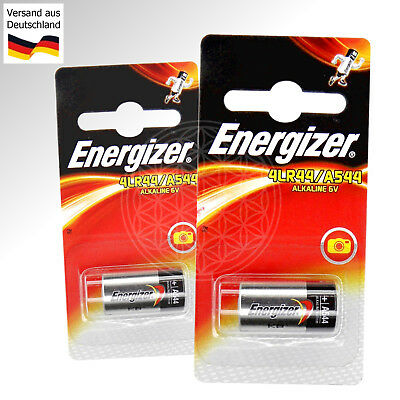 2x Alkaline Batterien 6 Volt A544 4LR44 L1325F 4A76 28A 28L 4SR44 476A 6V 4AG13