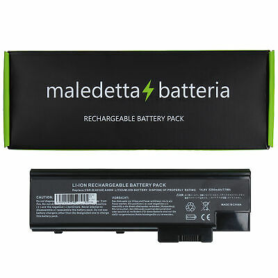 Batteria 14.4-14.8V 5200mAh per Acer Aspire 1640z