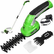 Cisaille a haie taille buissons haies jardin gazon 7,2V batterie lithium ion