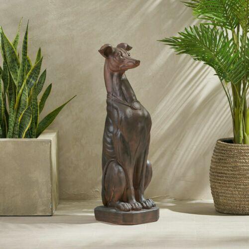 Mariely Greyhound Dog Statue Art