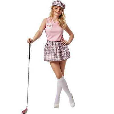 Frauenkostüm Golferin Golfer Golfspielerin Sport Golf Spiel Sportlerin Karneval