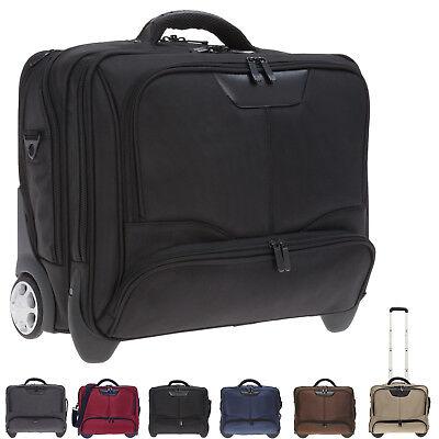 Laptop-trolley (DERMATA Trolley BUSINESS II Laptop Notebook Trolly Aktentrolly Bag 3456 ny WAHL)