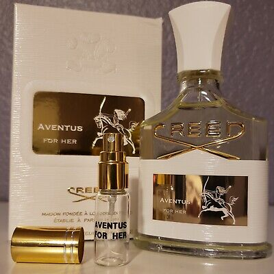 Creed Aventus For Her Cologne Eau De Parfum EDP 5ml Authentic sample Spray Gold - Her Cologne Spray