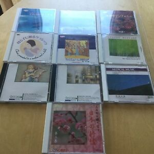 10CD / Relaxation, Meditation , Sounds of Nature MUSIC SELECTION