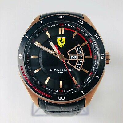 Scuderia Ferrari Men's Gran Premio Rose Gold Plated Watch
