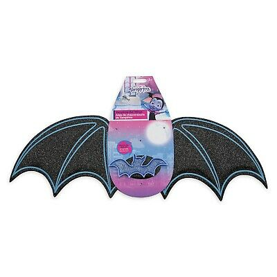 Girl Vampire Costumes For Kids (Vampirina Glow-in-the-Dark Bat Wings for Kids Toddler Glitter Disney Store)