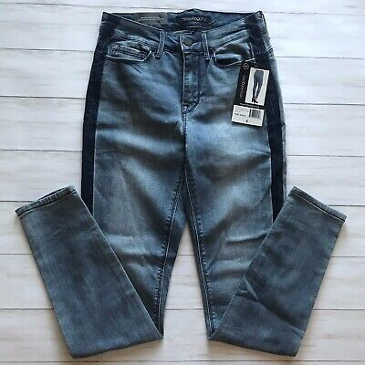 NWT Women's EVA LONGORIA New York Skinny High Rise Power Sculpt Jeans 4