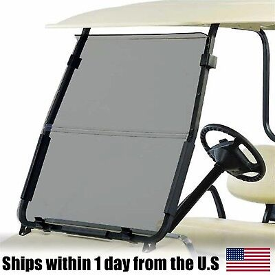 Fold Down Acrylic Windshield (Club Car DS Tinted Fold Down Acrylic Windshield 2000.5 - Up Golf Cart )