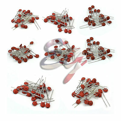 1000pcs 50 Values 50v Ceramic Capacitor Assorted Kit Assortment Set Hot Sale