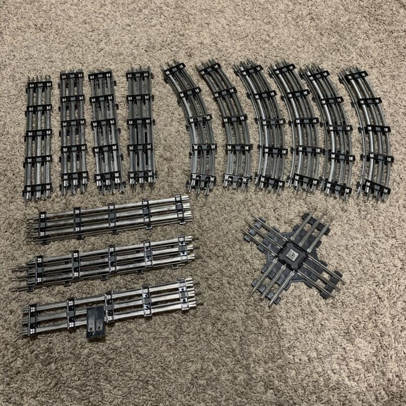 Lionel O-Gauge Track Lot of 27 Pieces Straight Curve 90 Degree Intersection