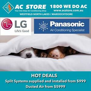Air Conditioner SALE Ducted and Split System AC