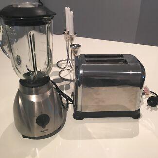 Toaster and blender  Kings Cross Inner Sydney Preview