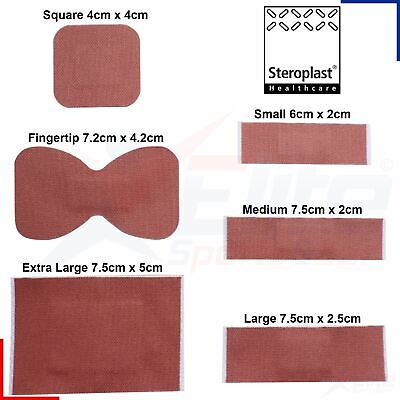 Steroplast Premium Fabric Heavy Weight Adhesive Wound Plasters Medical Grade