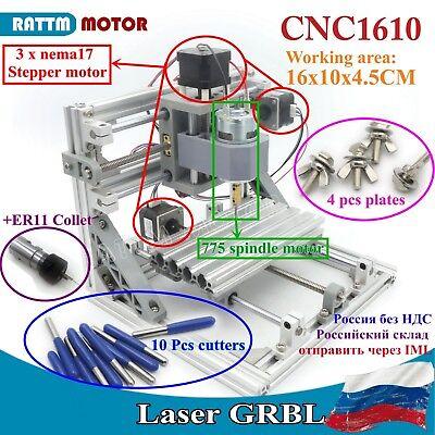 Grbl Usb 1610 Diy Mini Cnc Laser Engraving Machine Pcb Wood Milling Cutterru