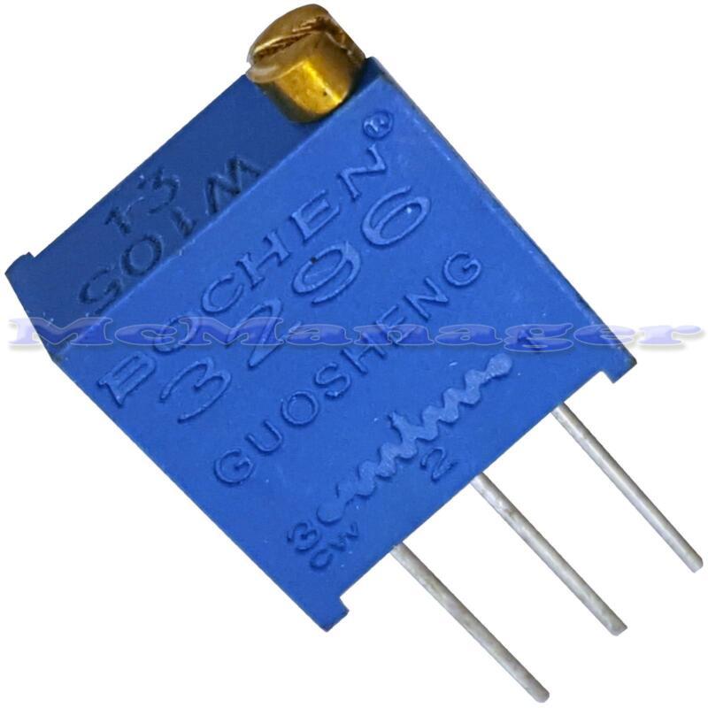1-100pcs 3296  Multiturn Variable Trimmer Preset  Resistor  Potentiometer Pot