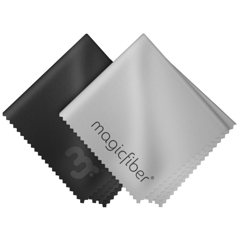 MagicFiber Streak Free Microfiber Cleaning Cloths for LED/ LCD Tablet TV Screen