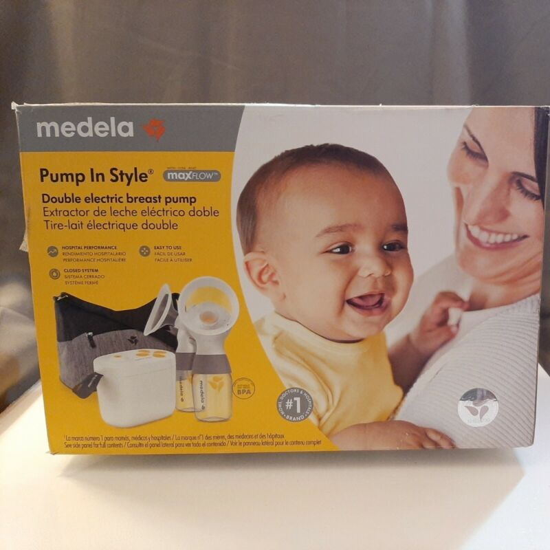 Medela Pump in Style MaxFlow Double Electric Breast Pump Kit w/Carry Case