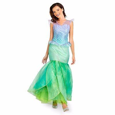 Disney Authentic Little Mermaid Princess Ariel Womens Princess Costume Size M (Little Mermaid Costume Womens)