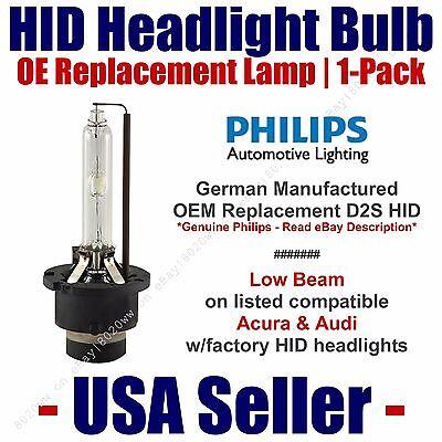 OE HID Headlight Low Beam GENUINE German 1-Pack Select Acura,Honda,Audi D2S