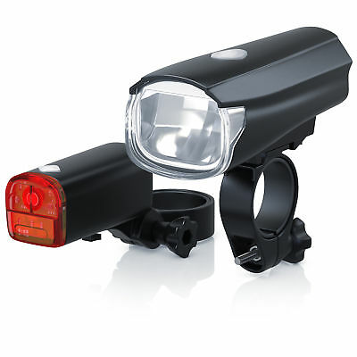 Aplic LED Lampen-Set | Fahrradbeleuchtung / Fahrradlicht / Fahrradlampe / StVZO