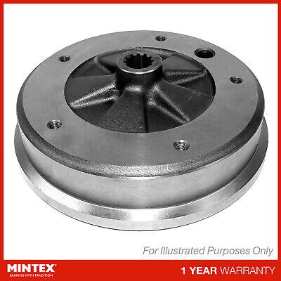 2x NEW MINTEX REAR BRAKE DRUMS SET PAIR - MBD323