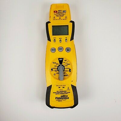 Fieldpiece Hs33 - Manual Ranging Digital Multimeter