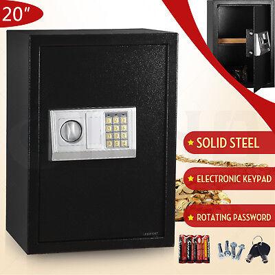 Large Digital Electronic Keypad Lock Depository Safe Box Security Home Gun Lock