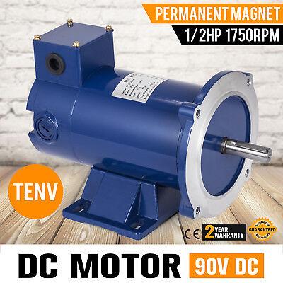 Dc Motor 12hp 56c Frame 90v1750rpm Tenv Magnet Permanent Dynamic Versatility