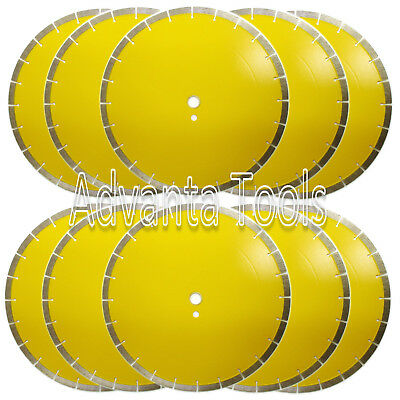 10pk 14 General Purpose Diamond Saw Blade For Block Brick Concrete Stone - 13mm