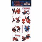 Paper Spiderman Birthday Party Favours