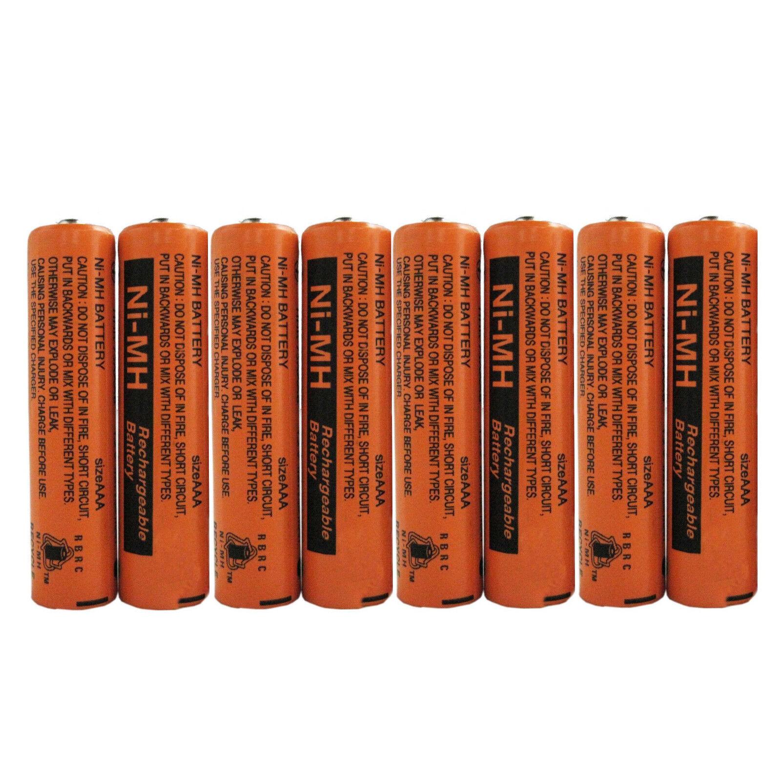 2~8 Pcs 700mAh Panasonic NiMH AAA Rechargeable Battery For Cordless Phones New