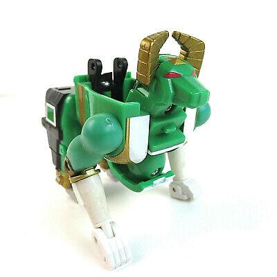 1996 Mighty Morphin Power Rangers Green Transformer to Greeon Bull Zeo