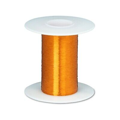 43 Awg Gauge Heavy Formvar Copper Magnet Wire 2 Oz 7896 0.0026 105c Amber