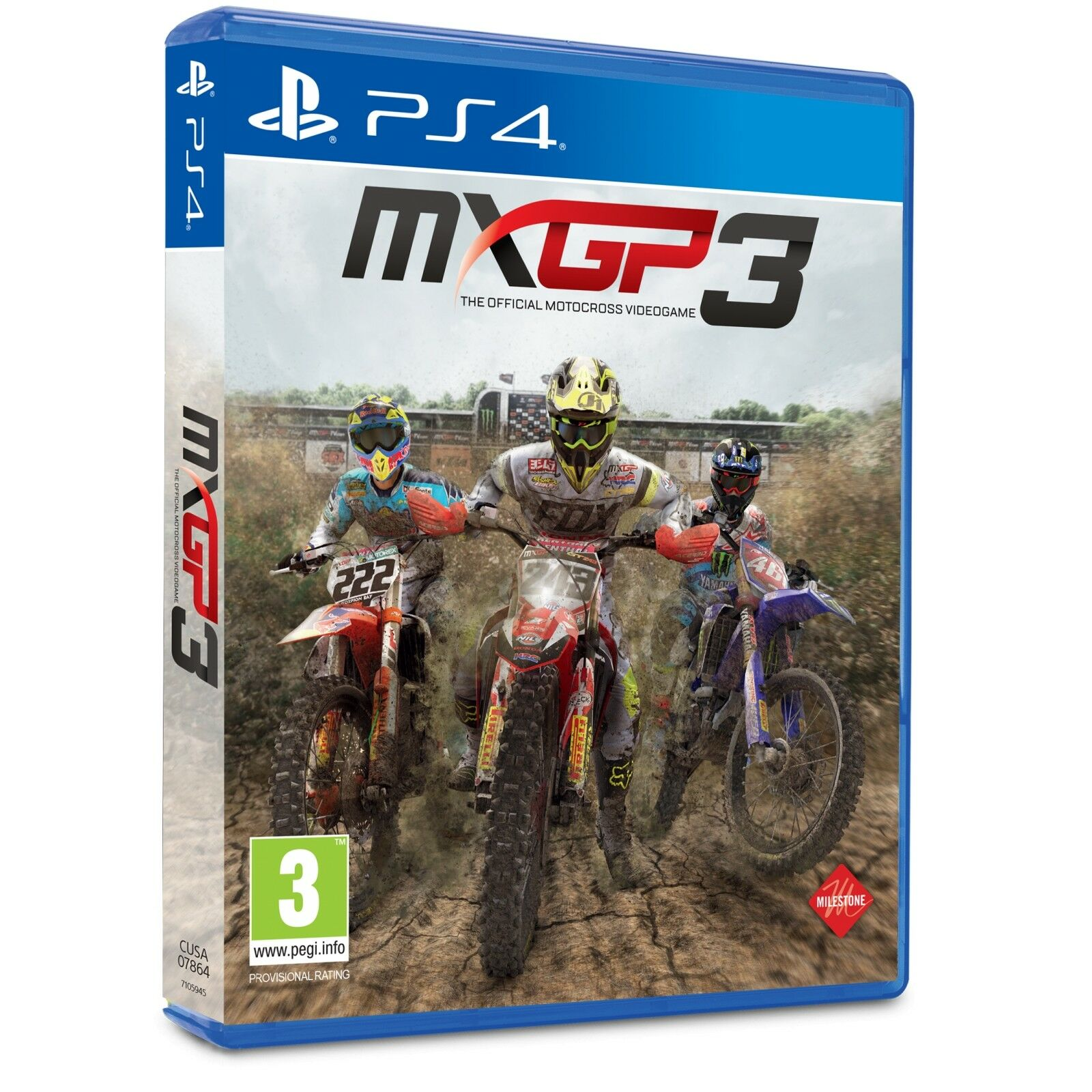 Mxgp 3 The Official Motocross Videogame Ps4 Ebay Game Mx Gp 2 Stock Photo