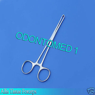 6 Stainless Steel Allis Tissue Forceps 4x5t Veterinary 6 Surgical