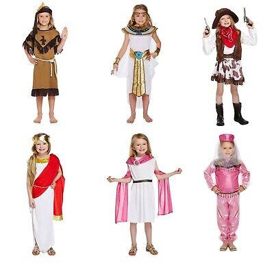 Girls World Book Day Fancy Dress Costume Outfit from Around the World - Around The World Costumes