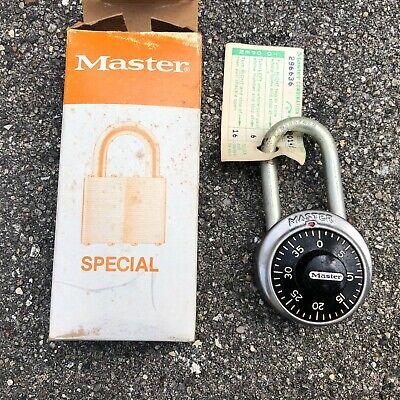 Master Combination Lock With Code Card Hardened Euc