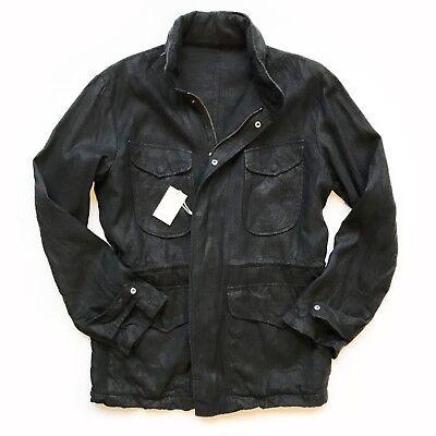Eidos Matera Gb Stonewashed Canapa Field Jacket Size Xl