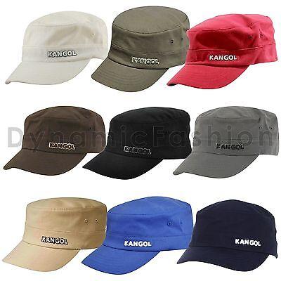 Authentic Mens KANGOL Army 9720BC Flexfit Cotton Twill Cap Hat S/M L/XL XXL ()
