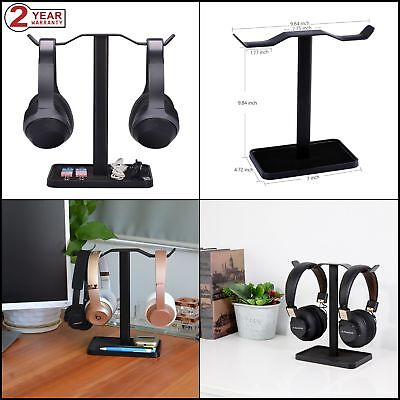 Headphones Stand Neetto Dual for Desk Gaming Headset Display Mount - HS908