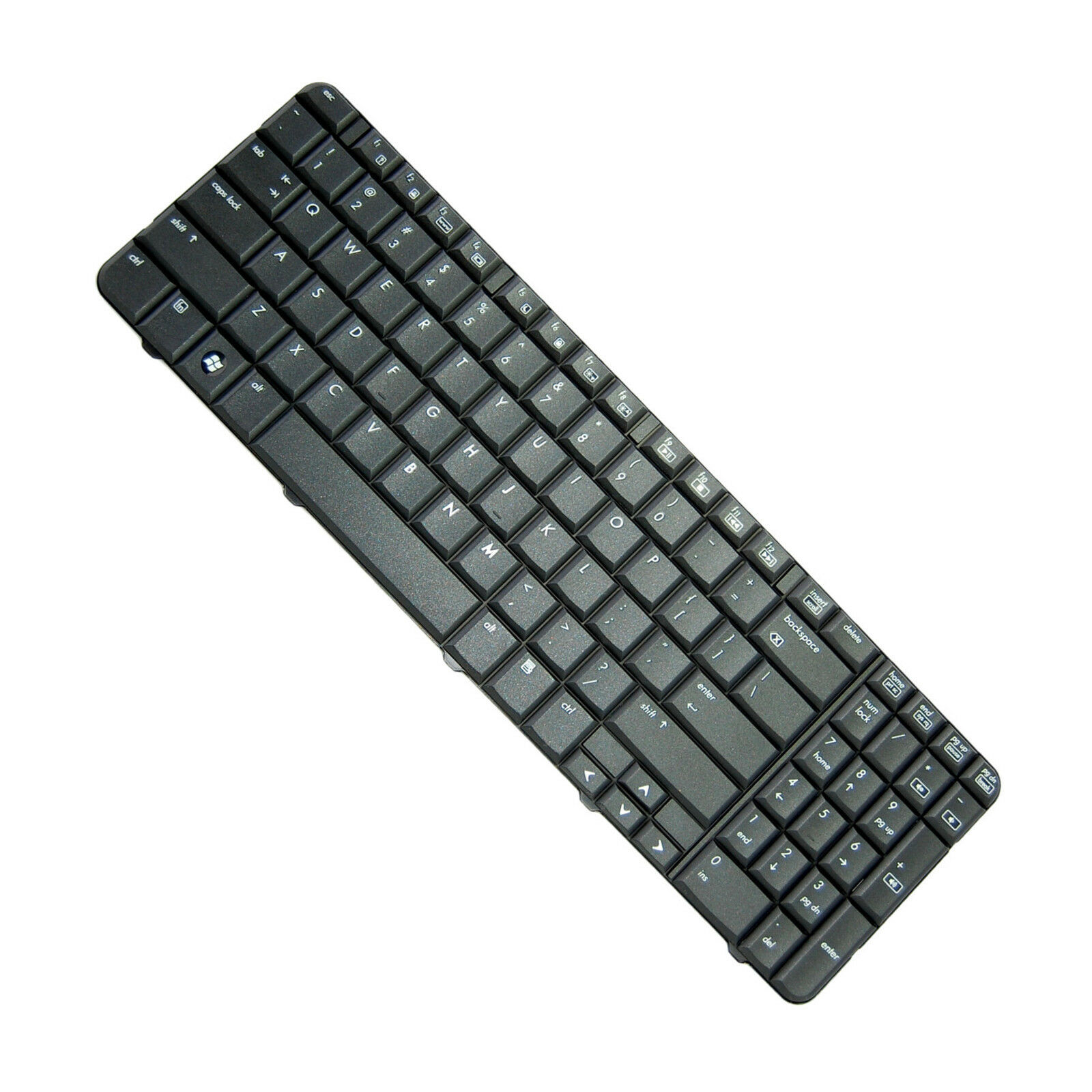 HQRP Teclado para HP G60-533CL / G60-535DX / G60-536NR / G60-538CA ordenador