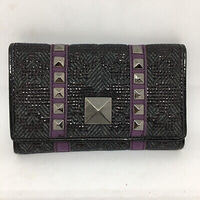 Iron Fist Tough Rider Wallet 4x6 Inch Purple Black Gray New In Package for sale  Shipping to South Africa