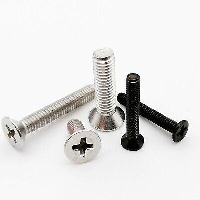 1050pcs M1-m8 Mini Small Micro Cross Phillips Flat Countersunk Head Bolt Screw