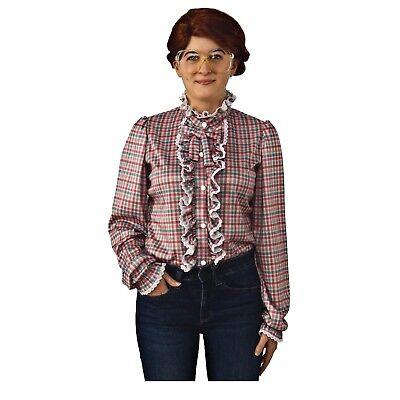 Adult Women's Stranger Things Barb Barbara Holland Halloween Costume Shirt S M L
